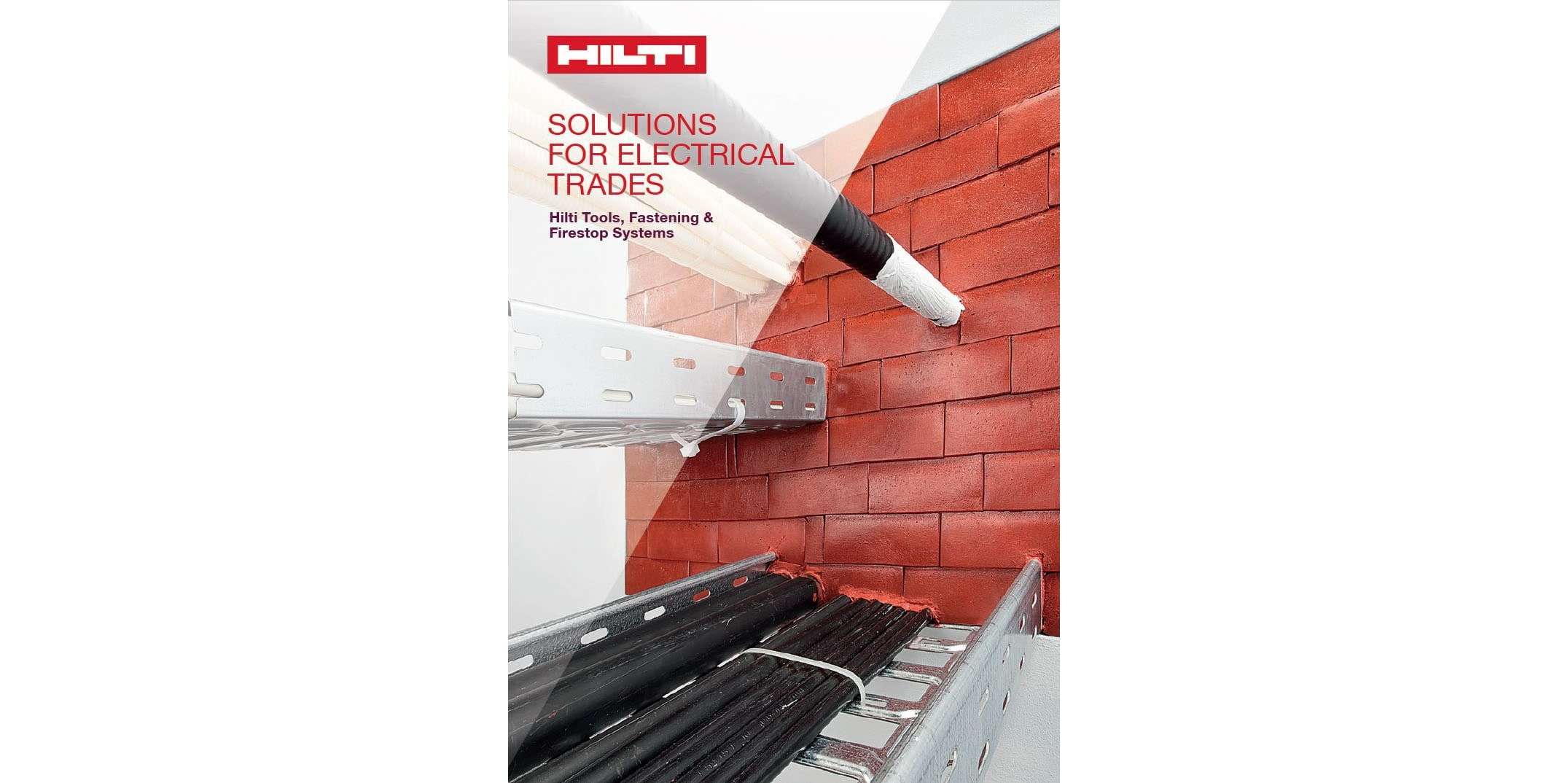 Hilti Solutions for Electrical Trades