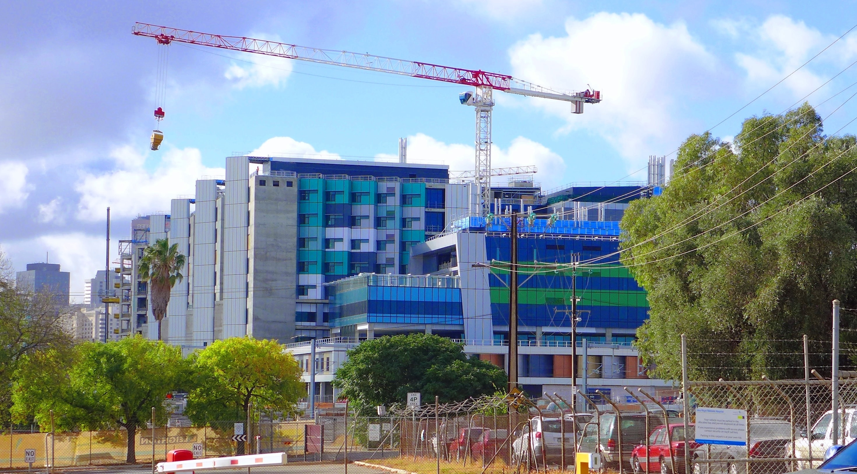 The New Royal Adelaide Hospital - West
