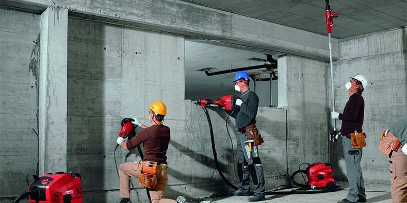 Dust control solutions from Hilti