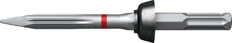 TE-SW-SM TE-S pointed wall chisel with polygon design for highest productivity in precise demolition