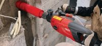 SPX-L handheld core bit (BI) Ultimate core bit for hand-held coring in all types of concrete – for <2.5 kW tools (incl. Hilti BI quick-release connection end) Applications 2
