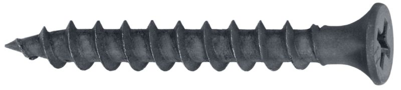 S-DS 04 B Single drywall screw (phosphate-coated) for fastening drywall boards to drywall boards