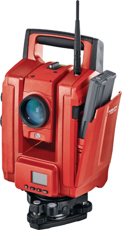 POS 180 Total station Long-range robotic total station for one-person operation up to 3000 m / 9843 ft