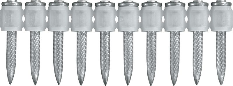 X-U MX High-performance collated nail for concrete and steel, for powder-actuated tools