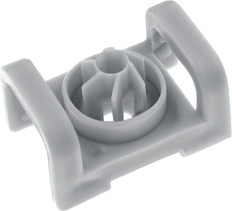 X-ECT-E MX Cable tie mount Plastic cable/conduit tie holder for BX and GX nailers