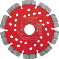 SPX-SL Universal diamond blade Ultimate diamond blade with Equidist technology for slitting in different base materials