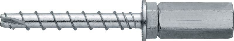 HUS3-I Flex 6 Standard screw anchor with internally threaded head (carbon steel)