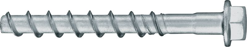 HUS2-H 8/10 Premium-performance screw anchor for quicker permanent and temporary fastening in concrete (carbon steel, hex head)