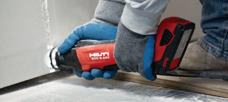 Sco 6 A22 Cordless Cut Out Tool Cordless Cut Out Tools Hilti Australia