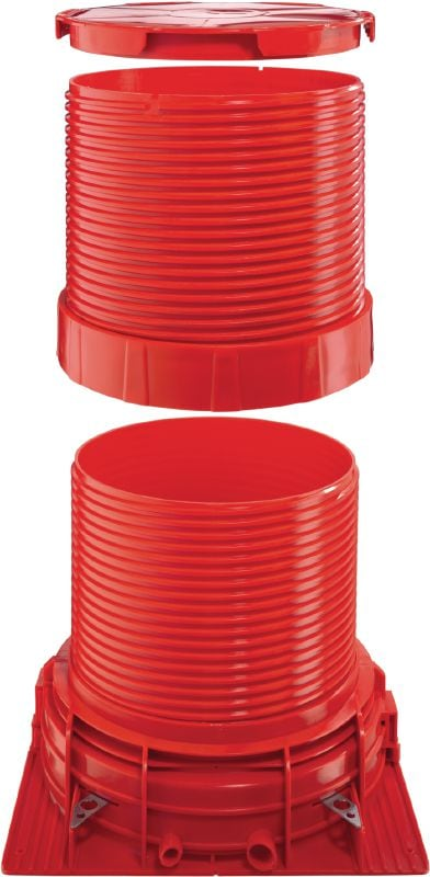 CP 680-P/M Extension tubes Modular, versatile accessories to adapt CP 680 firestop cast-in sleeves for use in virtually any slab