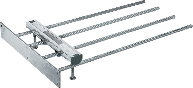 Top-of-Slab HAC rebar channels Cast-in anchor channels in standard sizes and lengths for top-of-slab applications