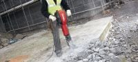 TE 3000-AVR universal cord Exceptionally powerful concrete demolition hammer for heavy-duty floor demolition Applications 1