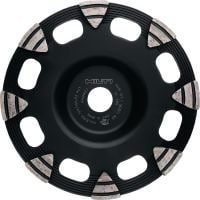 SP universal Premium diamond cup wheel for the DG 150 diamond grinder, for grinding all types of concrete, screed and natural stone