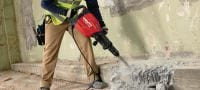 TE 1000-AVR Concrete breaker Versatile breaker for demolishing or chiseling floors and occasional wall applications (with universal power cord) Applications 2