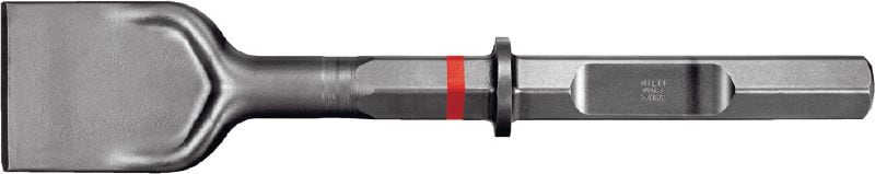 TE-H28P SPM Ultimate HEX 28 (H28) wide-flat chisel with polygon design for highest productivity in heavy demolition