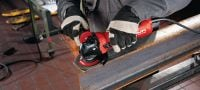 AG 125-13S 1300W angle grinder with long-lasting carbon brush, for cutting and grinding with discs up to 125 mm Applications 1