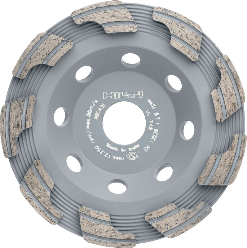 P universal Standard diamond cup wheel for grinding all types of concrete, screed and natural stone
