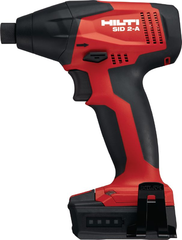SID 2-A Subcompact-class 12V cordless impact driver with 1/4'' hexagonal chuck for light-duty work
