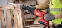 SR 30-A36 36V cordless reciprocating saw with the highest power and ergonomic design needed for heavy demolition Applications 2