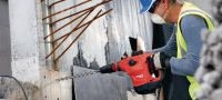 TE 60-AVR Powerful yet light SDS-max combihammer with Active Vibration Reduction for heavy-duty drilling and chiseling in concrete Applications 1